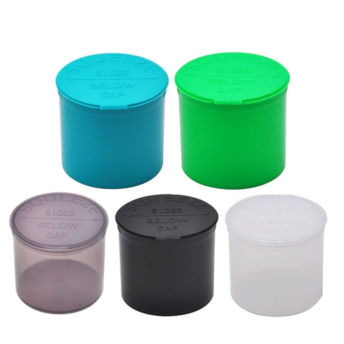 160 Dram Pop Top And Squeeze Pots Container Jars